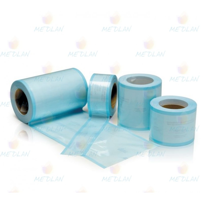 Packaging for sterilization roll without wrinkles