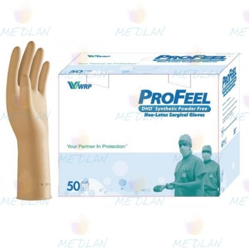 Рукавички хірургічні неопрен стерильні без пудри ProFeel SYNTHETIC DHD