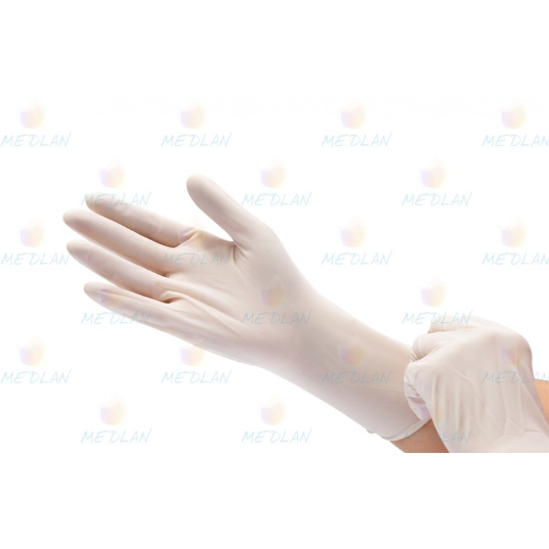 "Sterile Examination Gloves with powder ""MEDICARE"""